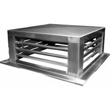 """New Df-18S Stainless Steel 4 way Diffusers 18"""" x 18"""" with 20"""" mounting edge"""