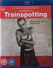 """TRAINSPOTTING"" Blu-Ray (1996, Danny Boyle, Ewan McGregor, Robert Carlyle)"