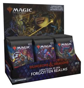 Magic SET-Boosterdisplay Abenteuer in den Forgotten Realms (deutsch)