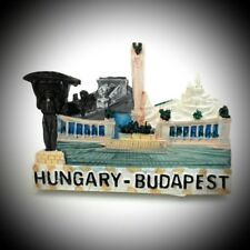 Fridge Magnet Hungary Budapest Polyresin Souvenir For Collection & Gift L589