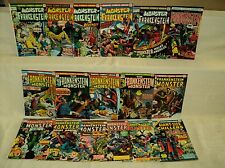 Frankenstein 1-18 (miss.#16) + Giant-Size Chillers 1 SET Nice! Comics (s 8721)