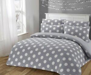 New Fleece Duvet Cover Set With Matching Pillow Cases