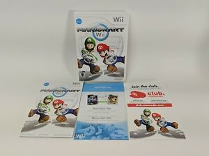 Mario Kart Nintendo Wii - Case / Box, Inserts and Instruction Manual Only