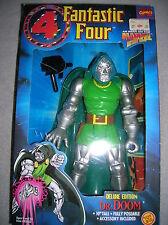 Marvel Comics ~ Fantastic Four Deluxe Edition 10'' Dr. Doom~ 1994 Toy Biz