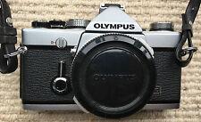 Olympus OM-1n 35mm SLR Film Camera Body Only with Original Case
