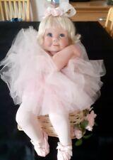 ROSE BY CINDY MARSCHNER ROLFE & THE DANBURY MINT PORCELAIN COLLECTABLE DOLL