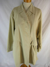 Great Sz 10 12 14 Strenesse Designer Trench Coat