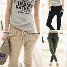 Fashion Womens Harem Pants Casual Long Trousers Drawstring Sweatpants S-XL OO55