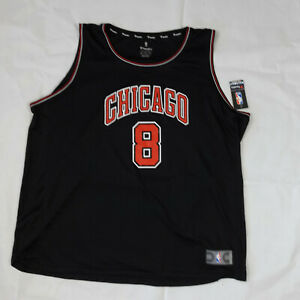 NWT Zach Lavine Chicago Bulls Fanatics Fast Break Replica 4XL Basketball Jersey