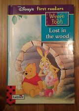 Gloss Ladybird Book Disney's Winnie the Pooh 'Lost in the Wood' KS1 Classic