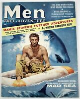 December 1956 MEN Mens Magazine, Underground Treasure, Mad Sea, Bat Masterson