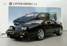 AutoArt 75312 LOTUS ESPRIT V8  (BLACK) 1:18 Neu in OVP