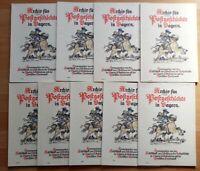 9x Archiv für Postgeschichte Bayern Bundespost Briefmarken Literatur Zeitschrift
