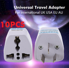 10x Universal Travel Adapter International UK USA EU to AU Australian Power Plug 10 Pcs