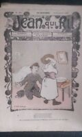 Revista Jean Que Rit N º 407 1908 Journal Demuestra que Aparecen El Viernes ABE