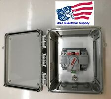 Dual Power Automatic Transfer Switch UL Enclosure, 1 Phase, 120/240 VAC, 63 amp.
