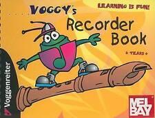 Voggy's Recorder Book by Martina Holtz (Spiral bound, 2003)