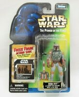 Boba Fett Freeze Frame Star Wars Power of the Force Kenner 1997 Full Circle  TY
