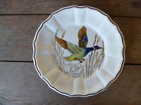 Este Ceramiche Italy Wildlife Hand Painted  Artist Signed Dinner Plate #L