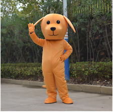 New year Brown Dog Mascot Costume suits Dress Festival party game Adults Outfit