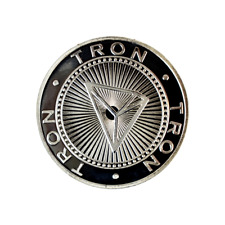 Tron Silver Cryptocurrency Collectors Coin