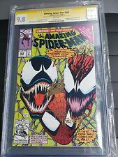 The Amazing Spider-Man #363 CGC 9.8 SS Stan Lee & Todd McFarlane - Carnage Venom