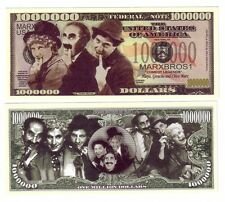 ONE MILLION DOLLARS THE MARX BROTHERS HARPO GROUCHO  § CHICO