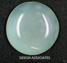 AQUAMARINE CABOCHON ROUND CUT 47.5 CARATS OUTSTANDING BLUE COLOR ALL NATURAL