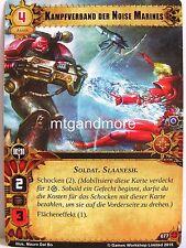 Warhammer 40000 Conquest LCG - 1x #077 lotta Federazione delle Noise Marines-ricerca