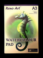 Reno Art A3 Watercolour Pad 15 Sheets 300gsm Art Craft Aritist