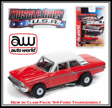 Auto World ~ '64 Ford Thunderbolt ~ New in Clam Pack ~ Also Fits AW, AFX, Tomy