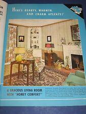 ART DECO 1940 CELOTEX Catalog Vintage Home Planning & Designing