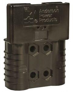 ANDERSON PLUG SBE® 160 BLACK 80V CONNECTOR FORKLIFT TRUCK BATTERY CHARGER PLUG