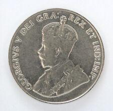 1927 Canada 5 Cents George V Km29 - AU #01271339g