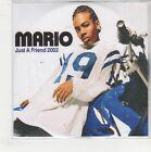 (GQ554) Mario, Just A Friend 2002 - DJ CD