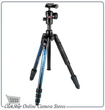 Manfrotto (Blue) Befree Advanced Travel Tripod w/ Ball Head Mfr # MKBFRTA4BL-BH
