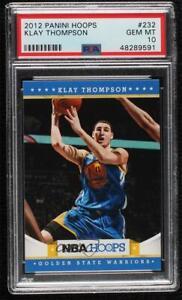 2012-13 NBA Hoops Klay Thompson #232 PSA 10 Rookie