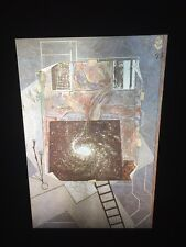 "Jasper Johns ""Mirror's Edge 2"" 35mm Color Slide. Pop Art Neo-dadaist"
