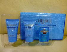 VERSACE Eau Fraiche Eau De Toilette Perfume for men Gift Box Set, Brand NEW!