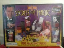 2001 Cadaco Magician Lance Burton Magic Show 100 Amazing Trick Set Box Nos Rare!