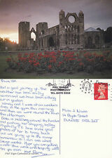 1992 ELGIN CATHEDRAL ELGIN MORAY SCOTLAND COLOUR POSTCARD