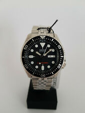 SEIKO SKX007K2  BLACK BEZEL  AUTOMATIC DIVERS BRACELET WATCH