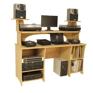 DJ Producer Desk Table Workstation PC's Laptop Mixer Decks - Sound Desks (PD1)