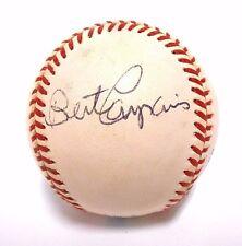 Bert Campy Campaneris Oakland Athletics A's Baseball Ball Signed Autographed