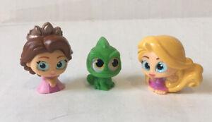 Disney Doorables series 4/5 Tangled set Rapunzel and Pascal -Lot of 3