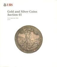 UBS AUCTION 61 AUKTIONSKATALOG 2004 GOLD AND SILVER COINS