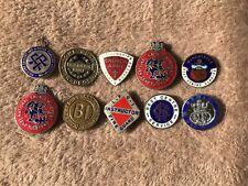 10 Ww2 Home Front Lapel Badges.