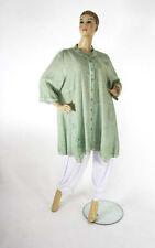Übergröße Damenblusen,-Tops & -Shirts im Blusen-Stil mit Rundhals für Freizeit