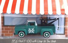 FORD F-100 1956 TOW TRUCK HOBBY SHOP SERIES 2 97020 A  1:64 GREENLIGHT NEW