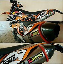 Anello protezione salva scarico  terminale moto enduro motard mod ACCESO